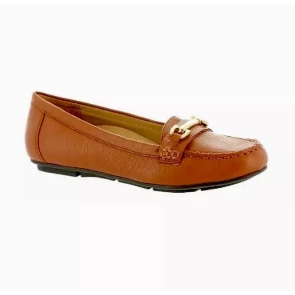 c9cfe38ac1f NEW Vionic Orthaheel Kenya Leather Loafer Shoes